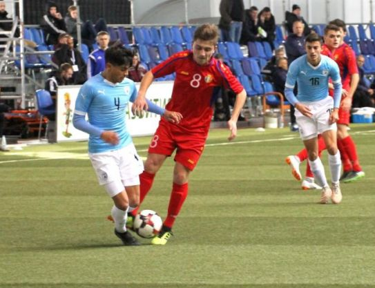 Two scored goals by the national team of Georgia