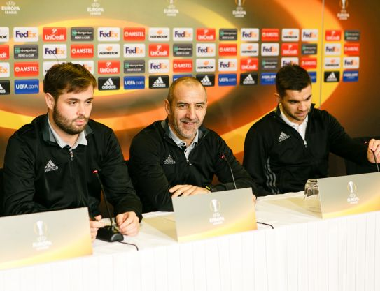 Press-conference in Copenhagen