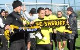 Fees. Belek.Turkey. Day training of FC Sheriff. 01.02.19